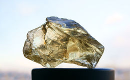 Rough citrine Royalty Free Stock Images