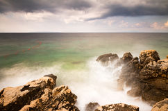 Rough coast Stock Photography