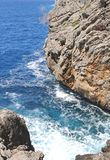 Rough coastline at Cala Sa Calobra, Mallorca, Spain Stock Photo