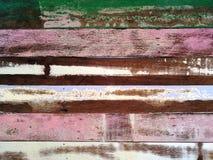 Rough color wood wall texture Stock Photos