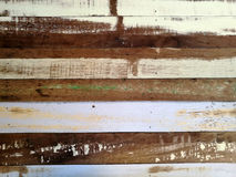 Rough color wood wall texture background Royalty Free Stock Photos
