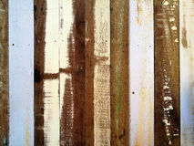 Rough color wood wall texture background Royalty Free Stock Images