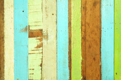 Rough colorful wooden Royalty Free Stock Photos