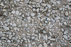 Rough concrete texture. Texture of  concrete with small gravel Royalty Free Stock Image