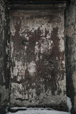 Rough concrete texture. Texture a dark dingy stone surface. Shabby grungy background. Old wall Royalty Free Stock Image