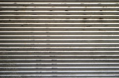 Rough corrugated metal background Royalty Free Stock Photo