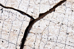 Rough crevice in the granite Stock Images