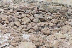 Rough cut stone wall seamless texture background. Rough cut stone wall seamless texture Royalty Free Stock Photo