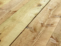 Rough cut wooden planks Stock Photography