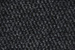 Rough dark carpet texture, macro stock image