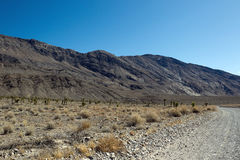 Rough Death Valley Road Stock Photography