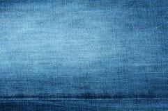 Rough denim blue background Royalty Free Stock Image