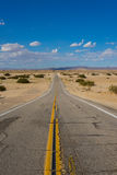 Rough Desert California Road Stock Photos