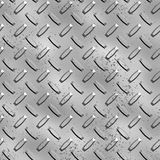 Rough diamond plate metal background Stock Images