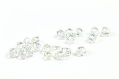 Rough diamonds Stock Images