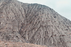 Rough embossed ridge. Rough mountain range after the rain Royalty Free Stock Photos