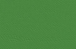 Rough fabric B. Linen striped green textured sacking burlap Stock Images