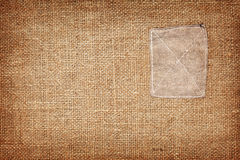 Rough fabric texture background. Rough brown fabric texture background Stock Images
