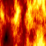 Rough fire. Fire background, will tile seamlessly as a pattern Stock Image