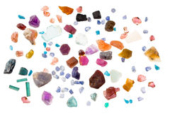 Rough gems Royalty Free Stock Image