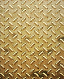 Rough gold diamond plate royalty free stock image