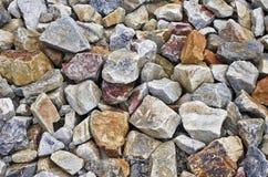 Rough granite boulders Stock Image