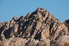 Rough granite. Granite mountain on the island of Caprera in Sardinia Royalty Free Stock Photography