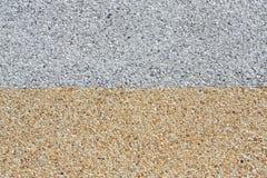 Rough gravel floor Stock Photography