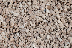 Rough Gravel Granite. Rough Pieces of Gravel on ground Royalty Free Stock Photography