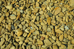 Rough gravel texture background Stock Image