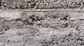 rough gray concrete stock image