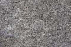 Gray concrete road. this image for texture,abstract and backgrou. Rough gray concrete road. this image for texture,abstract and background concept Royalty Free Stock Photography