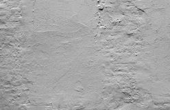 Rough gray concrete wall with plaster Stock Photos