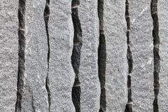 Rough gray granite blocks. Background photo texture royalty free stock photography