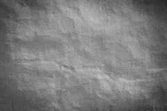 Rough gray plaster wall background Royalty Free Stock Images