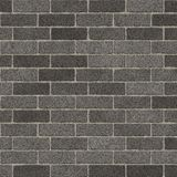 Rough Grey Brick Wall. Brick Wall Rough Grey Pattern Background / Grey Brick Surface / Seamless texture Royalty Free Stock Photo