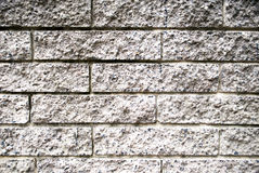 Rough grey brick wall background Royalty Free Stock Photography