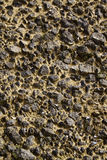 Rough ground. Rough dry ground covered with rocks and mud or earth in between Royalty Free Stock Images
