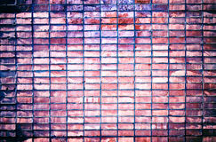 Rough grunge brick wall background Stock Images