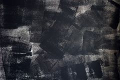 Rough grunge texture of uneven paint strokes Stock Image
