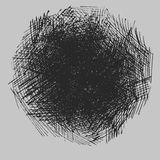 Rough hatching drawing texture Royalty Free Stock Photography