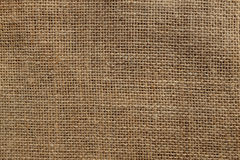Rough hessian background Stock Images