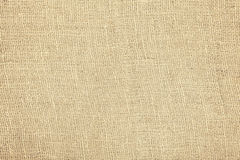 Rough jute fabric natural texture or background Stock Photos