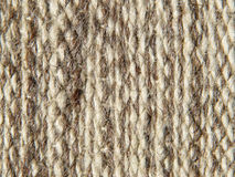 Rough knit camel wool fabric texture pattern. Stock Photography