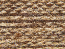 Rough knit camel wool fabric texture pattern. Royalty Free Stock Photos