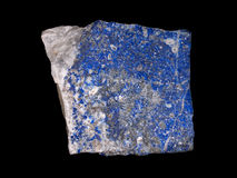 Rough lazurite royalty free stock photography