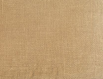 Rough linen material texture. Royalty Free Stock Images
