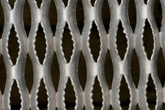 Rough metal grate. Made for traction Stock Photography