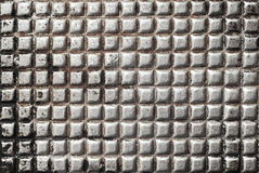 Rough metal surface Royalty Free Stock Photo