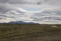 Rough mountain landscape Stock Photo
